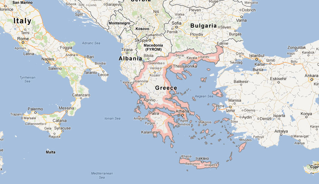 PORTS THROUGHOUT GREECE
